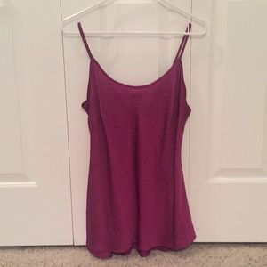 100% Polyester Pink Cami by CAbi, size M